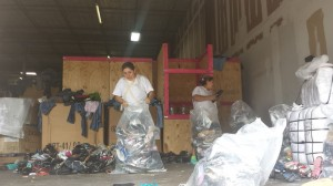 Used-Clothing-Warehouse-Sorting